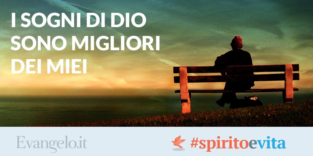 Conosciuto Evangelo.it | Chiesa Cristiana Evangelica Roma I Sogni di Dio sono  GU34